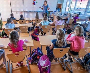 تست اجباری در آلمان برای حضور دانش آموزان در مدارس
