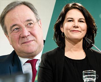 دو نامزد اصلی، برای جانشینی آنگلا مرکل انتخاب شدند